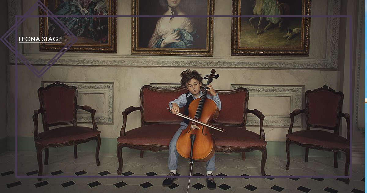 Фотосессия с виолончели - LeonaStage